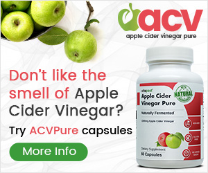 Apple Cider Vinegar capsules - Boost Metabolism
